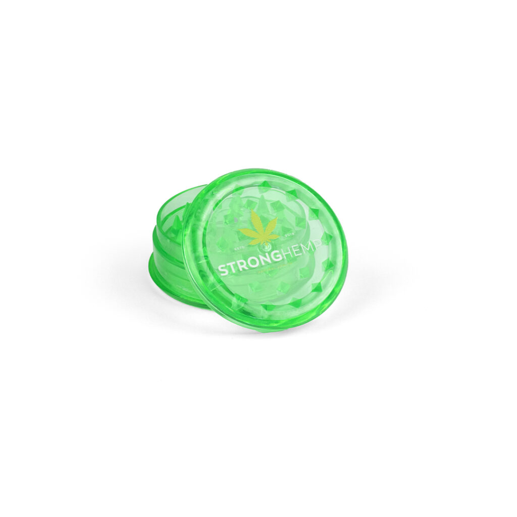 zielony-mlynek-grinder-akryl-reczny-cbd-susz-konopny-strong-hemp-cbd-sklep