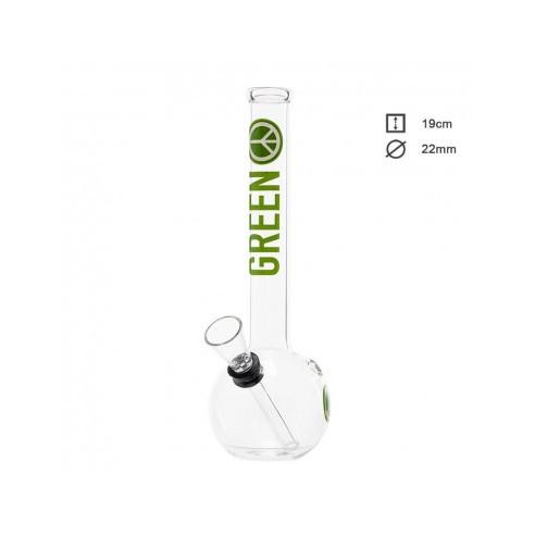 bongo-szklane-fajka-wodna-greenline-19-cm-sklep-cbd-strong-hemp