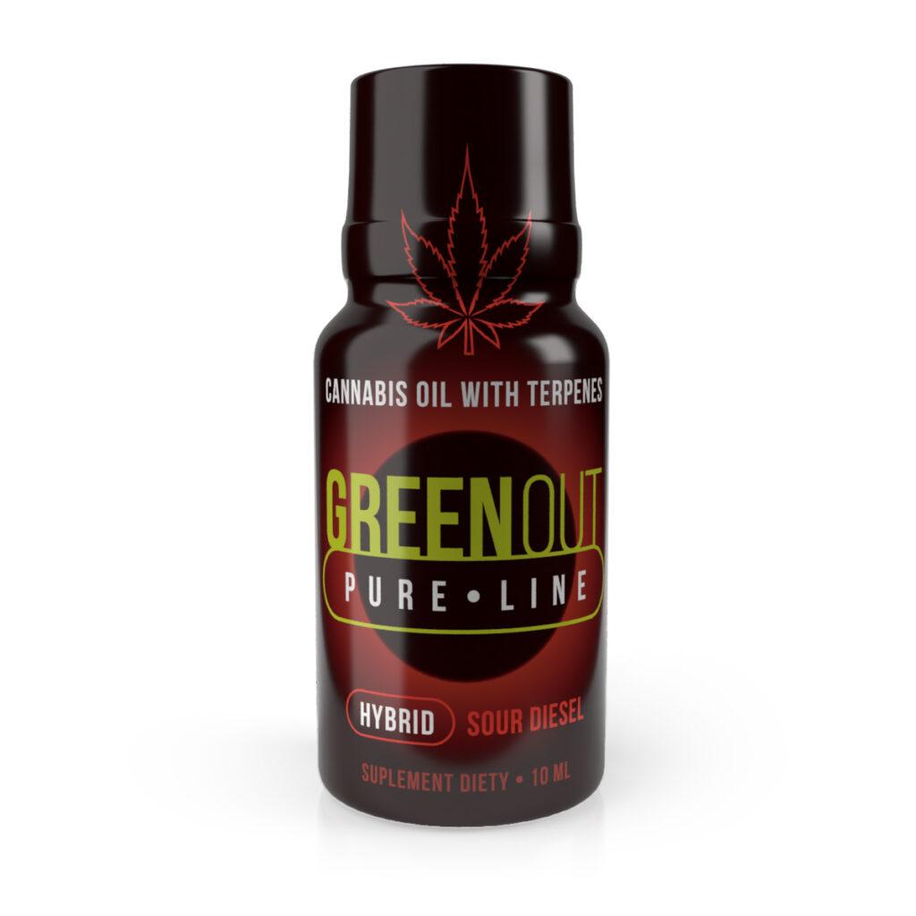 shot-cbd-green-out-pure-mini-hybrid-sour-diesel-sklep-cbd-strong-hemp