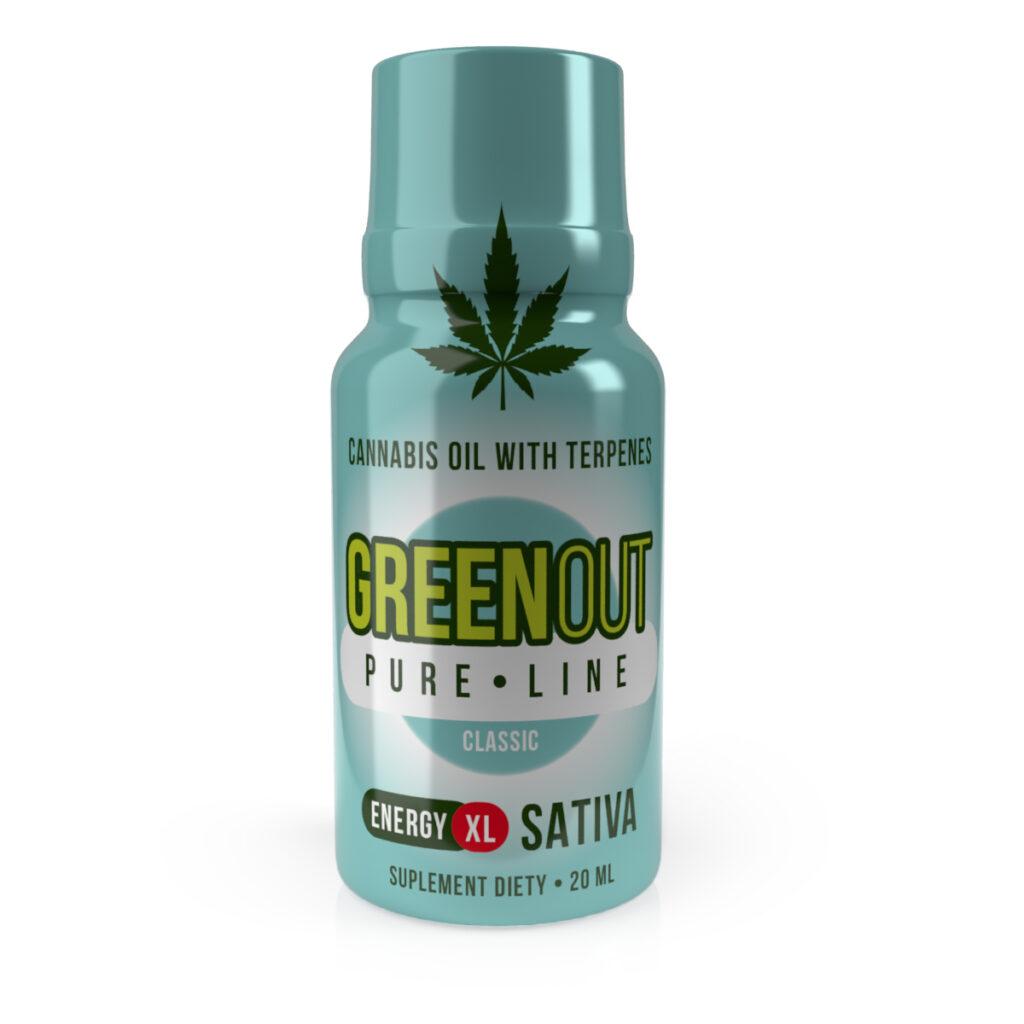 shot-cbd-green-out-pure-xl-classic-energy-sativa-sklep-cbd-strong-hemp